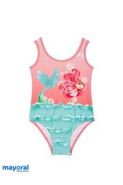 Dievčenské jednodielne plavky Mayoral Morská víla