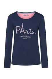 Dámske tričko na spanie Paris