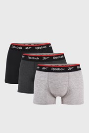 3 PACK boxeriek Reebok Basic Sport