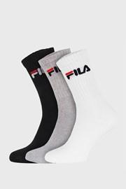 3-pack troch farieb vysokých ponožiek FILA
