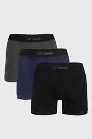 3 PACK boxeriek Seamless Trunk I
