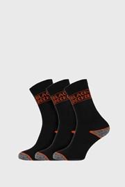 3 PACK pracovných ponožiek Black and Decker