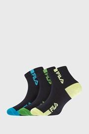 3 PACK detských ponožiek FILA Fluo