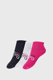 3 PACK dievčenských ponožiek FILA Invisible