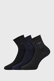 3 PACK dámskych ponožiek Flowi