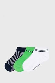 3 PACK nízkych ponožiek Matcha