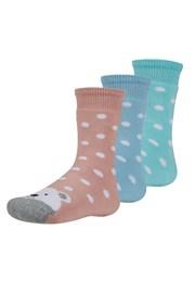 3 pack detských hrejivých ponožiek Dorote