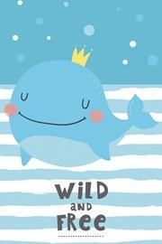 Detský uterák Veľryba