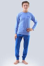 Chlapčenské pyžamo Atlantic svetlomodré