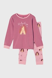 Hedgehog hugs lányka pizsama