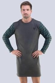 Tmavosivá nočná košeľa Hector