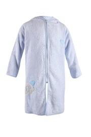 Detský župan Blue Kids modrý slon
