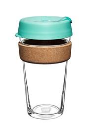 Cestovný hrnček Keepcup zelený s korkom 454 ml