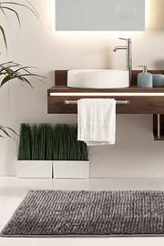 Kúpeľňová predložka Bati hnedá