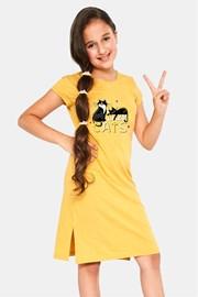Dievčenská nočná košeľa Cats