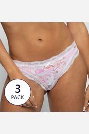3 pack klasických nohavičiek GINA I
