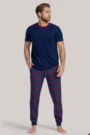Modré pyžamo Cooper