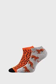 2 PACK dámskych ponožiek Levhart