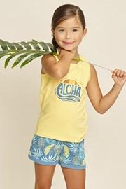 Dievčenské pyžamo Aloha Palms