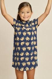 Dievčenská nočná košeľa Sloth