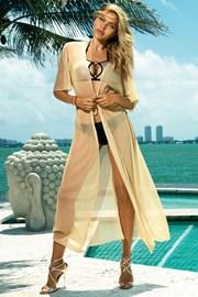 Plážové šaty Glamour gold