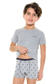 Komplet chlapčenských boxeriek a trička 4087