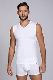 Biele tričko bez rukávov