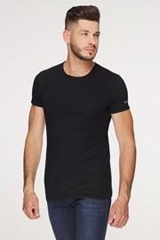 Čierne bavlnené tričko PLUS SIZE