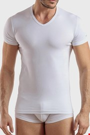 Biele bavlnené tričko Max PLUS SIZE