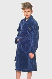 Chlapčenský župan Elegant modrý