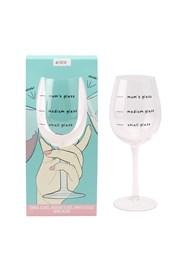 Pohár na víno Mums glass