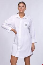 Dámska nočná košeľa Ralph Lauren biela