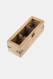 Drevená krabička na čaj malá