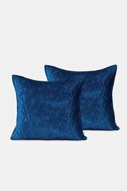 Súprava 2 ks obliečok na vankúšik Royal modrá