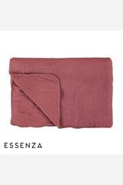 Prikrývka na posteľ Essenza Home Lammy ružová