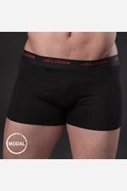 Pánske boxerky JOLIDON Silk Touch Black