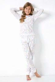 Lányka pizsama Egyszarvú