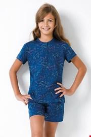 Lányka pizsama Egyszarvú II, kék