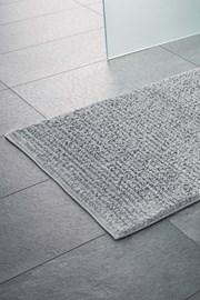 Kúpeľňová predložka Agra sivá