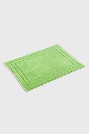 Jasmina fürdőszoba szőnyeg, zöld