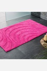 Kúpeľňová predložka Jaipur ružová