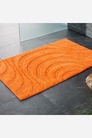 Kúpeľňová predložka Jaipur oranžová