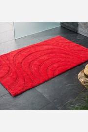 Kúpeľňová predložka Jaipur červená