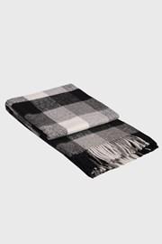 Vlnená deka Palermo sivá