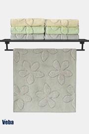 Luxusný uterák VEBA Primavera šedý