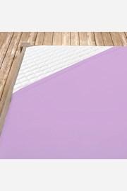 Napínacie jersey prestieradlo fialové