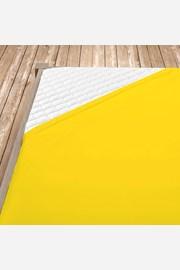Napínacie jersey prestieradlo žlté