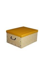 Skladacia úložná krabica Nordic žltá