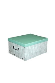 Skladacia úložná krabica Nordic zelená