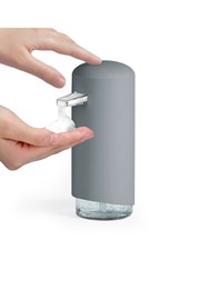 Dávkovač mydlovej peny Compactor sivý